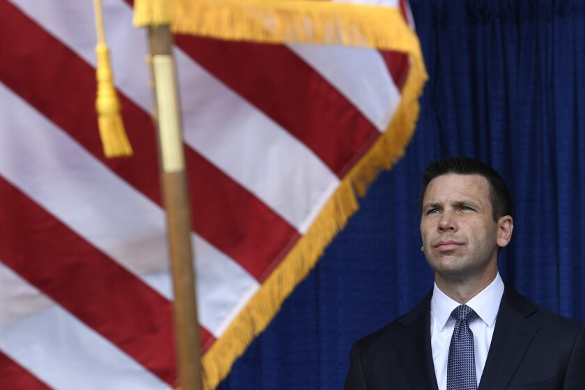 Homeland Security acting head Kevin McAleenan resigns, leaving department at war with itself
