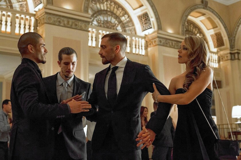 Review: 'Southpaw' has solid Jake Gyllenhaal in ring