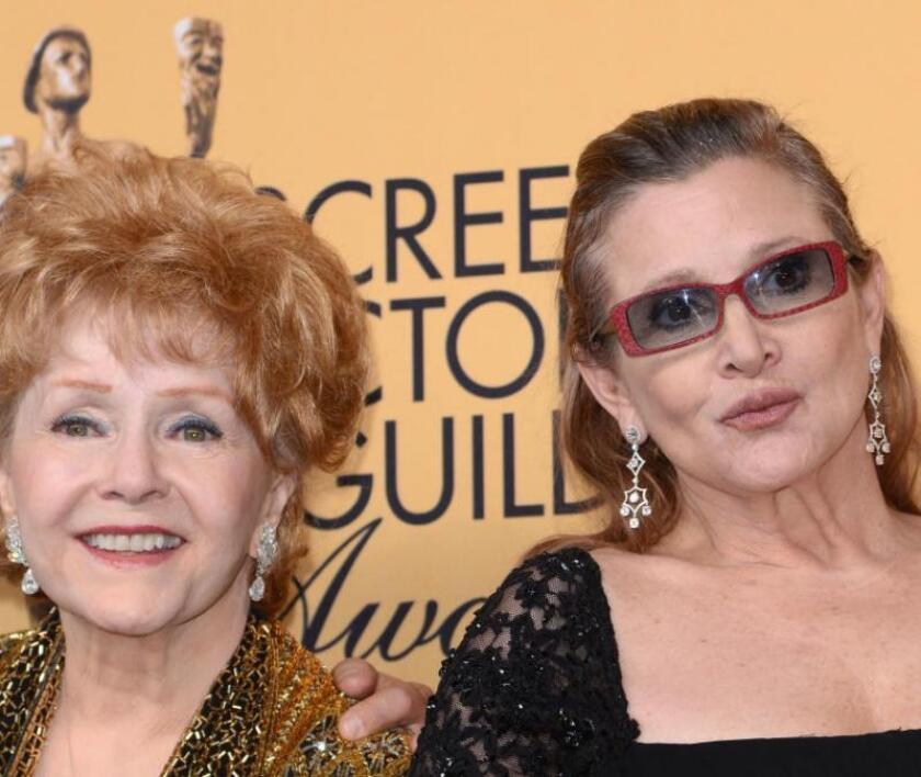 Debbie Reynolds y su hija, Carrie Fisher, tuvieron una relación muy complicada.