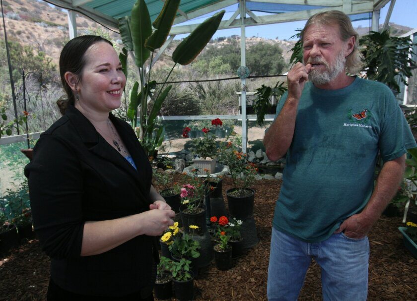 A roadside attraction in Bonsall off Interstate 15 is more than just honey and flowers. Sabrina Lukosky, a long time merchant of local produce, flowers and honey, has teamed up with butterfly advocate David Marriott, founder of The Monarch Program, an educational organization that lost its lease