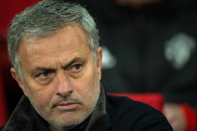 El técnico portugués del Manchester United, José Mourinho. EFE/Archivo