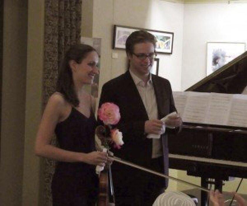 Virginie D'Avezac De Castera and Zachary Deak