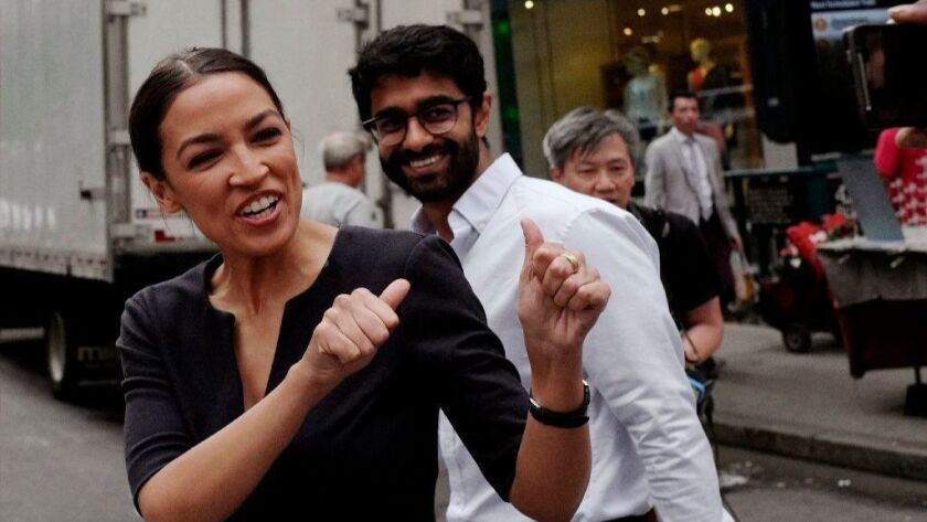 Alexandria Ocasio-Cortez defeated a powerful incumbent in a Democratic congressional primary in New York with a campaign fueled, in part, by a viral video.