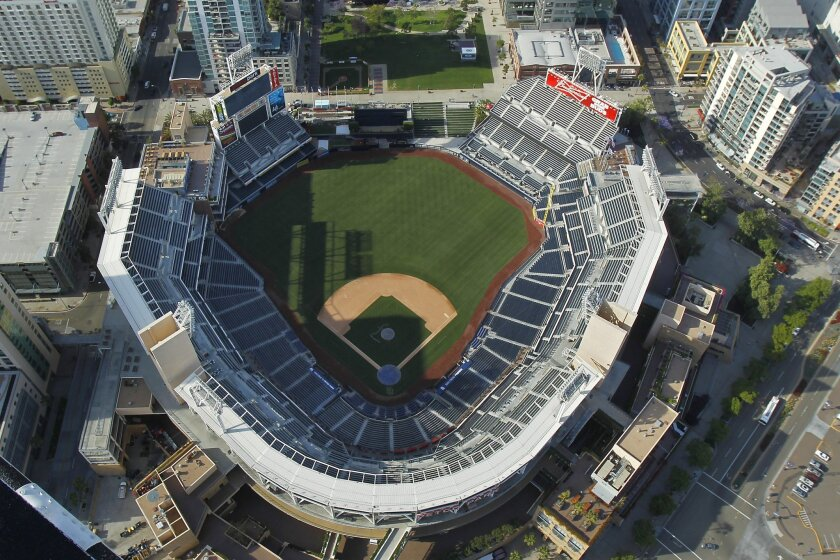 Petco Park, home to the San Diego Padres, opened in 2004.
