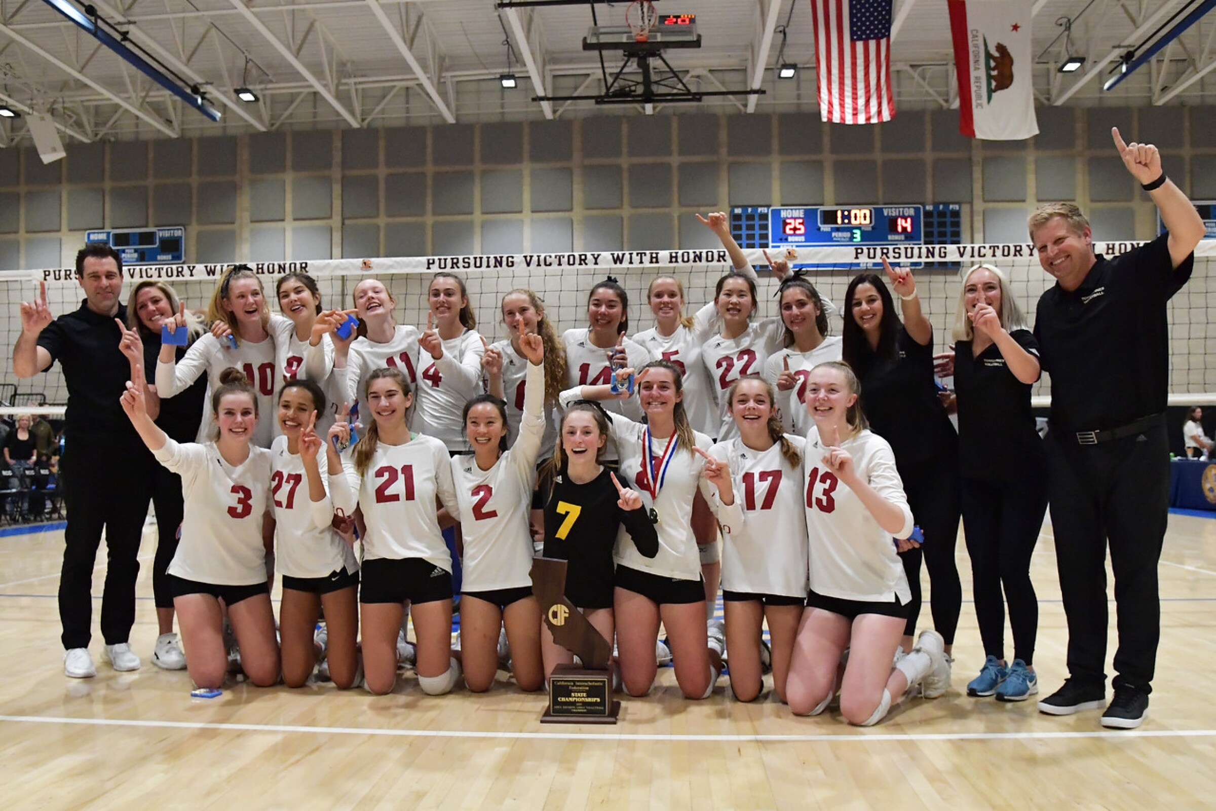 The MaxPreps website declared the Torrey Pines volleyball team its national champion on Tuesday, Nov. 26.