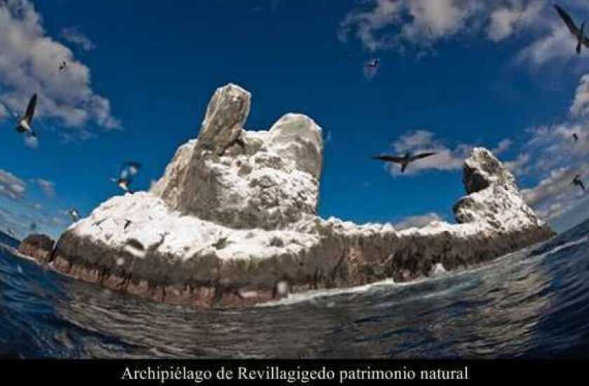Archipiélago de Revillagigedo patrimonio natural