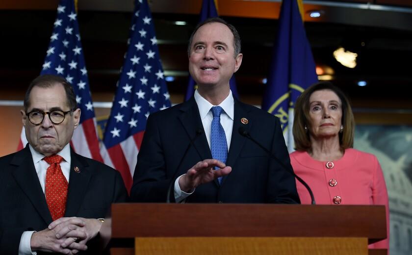 House Intelligence Committee Chairman Adam B. Schiff