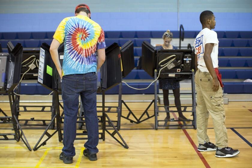 Ohio voter