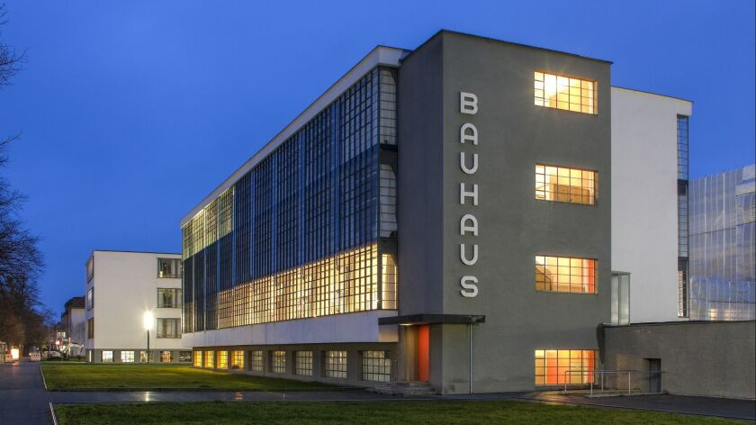 The Bauhaus art school building in Dessau, Germany