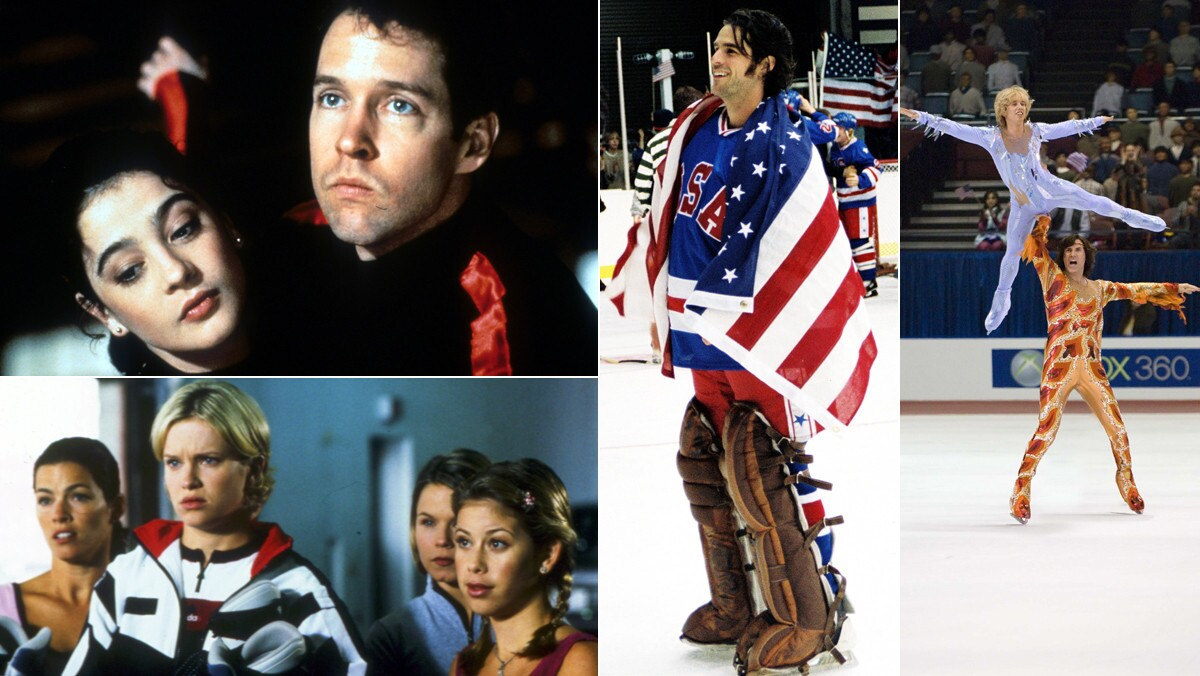 The Winter Olympics are just around the corner. To get in the mood for the games, here's a look at Hollywood's take on the international sporting tradition. So cozy up with some hot cocoa, wave your favorite flag and click through our gallery of some of the most memorable big screen portrayals of the Winter Olympics.