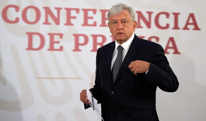 Andres Manuel Lopez Obrador. (Photo by Alfredo ESTRELLA / AFP)