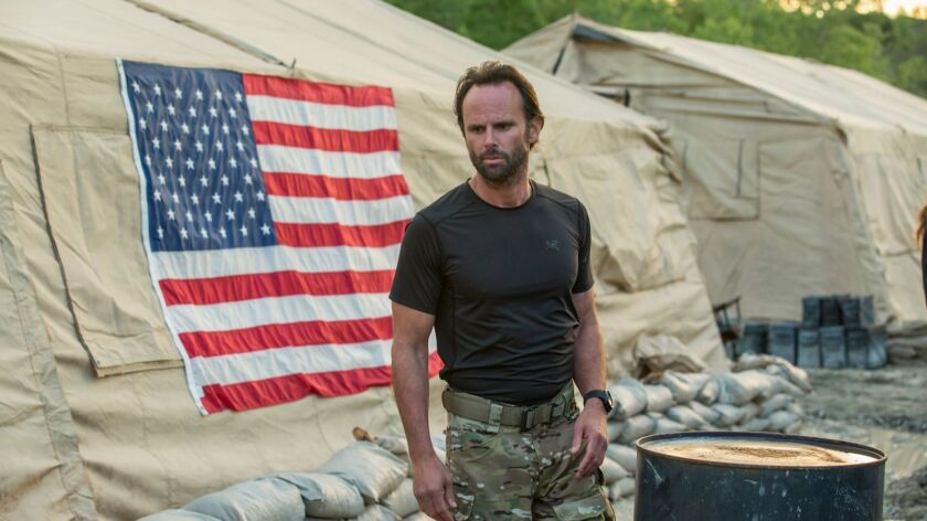 """Walton Goggins is a former Navy SEAL working private security in Africa in the new History series """"Six."""""""