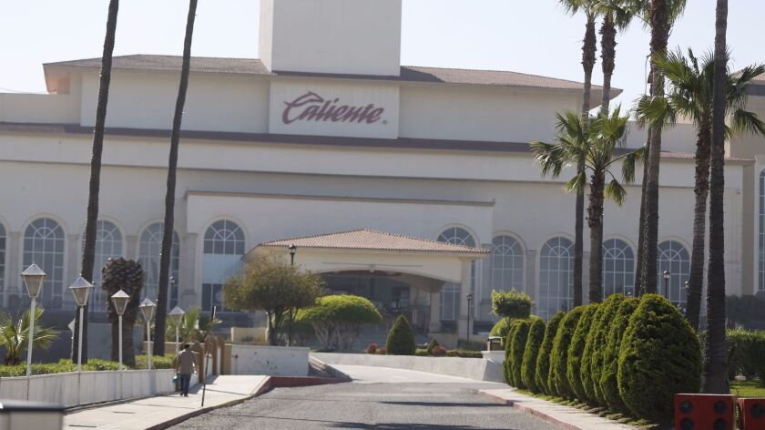 Caliente operates multiple gambling facilities in Mexico, including this main one in Tijuana.