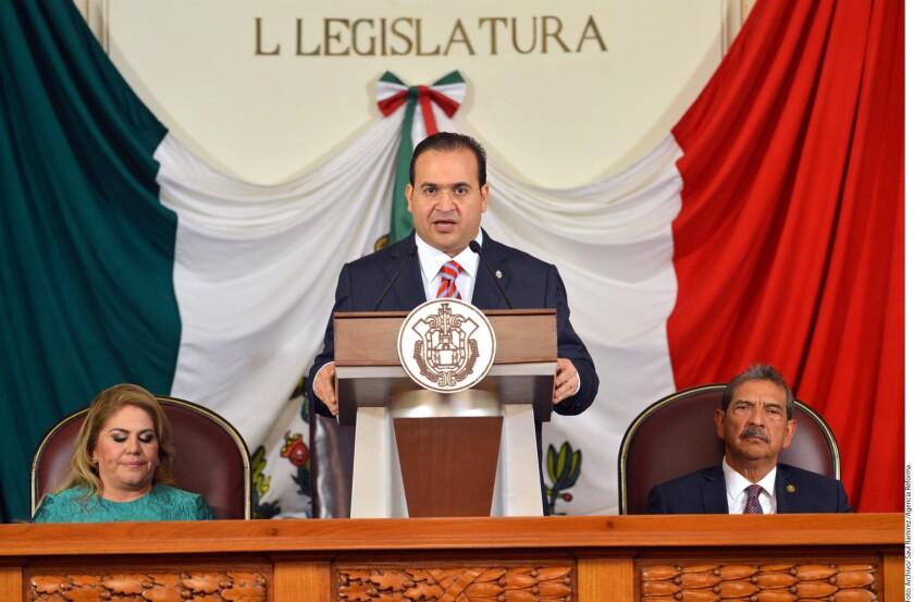 Javier Duarte, gobernador de Veracruz.