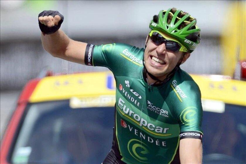 El ciclista canadiense de Europcar, David Veilleux. EFE/EPA/Archivo