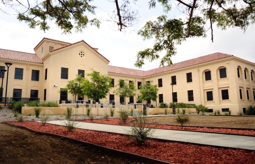 Refurbished housing at West L.A. VA campus