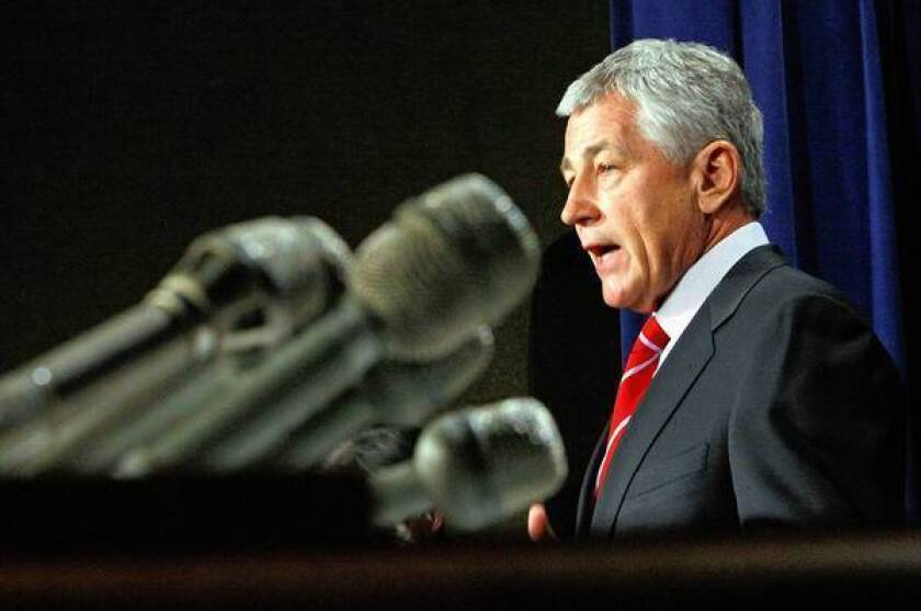 Critics slam Chuck Hagel's likely nomination as Defense secretary