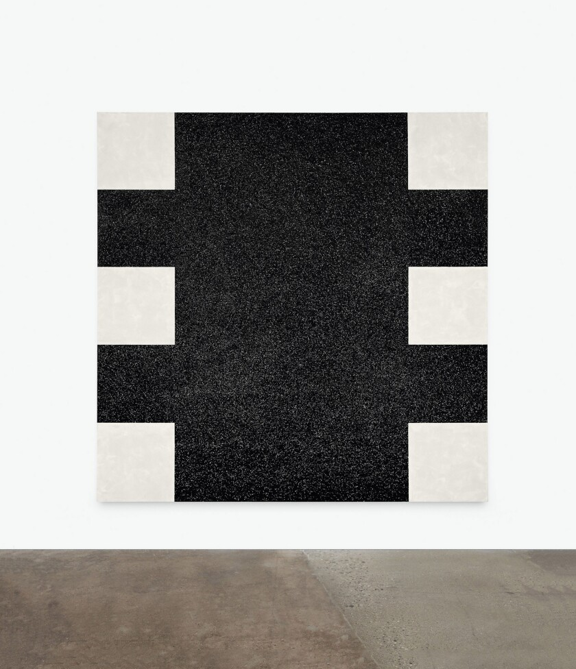 "lMary Corse, ""Untitled (Black Light Painting)"" at LACMA"