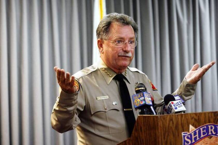 """Kern County Sheriff Donny Youngblood says: """"Our credibility is at stake here,"""" in asking the FBI to enter the investigation."""