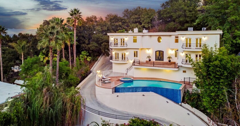 Mac Miller's former Studio City home