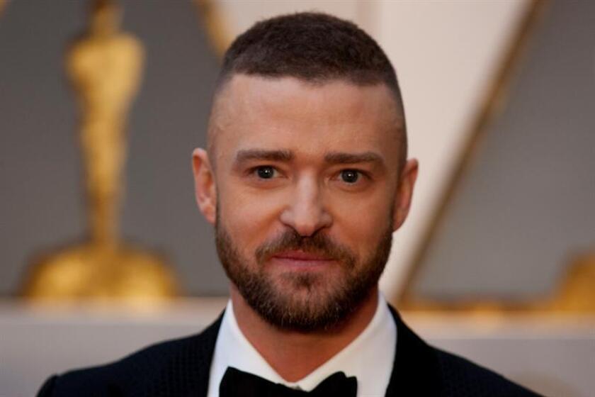 El cantante y actor estadounidense Justin Timberlake. EFE/Archivo