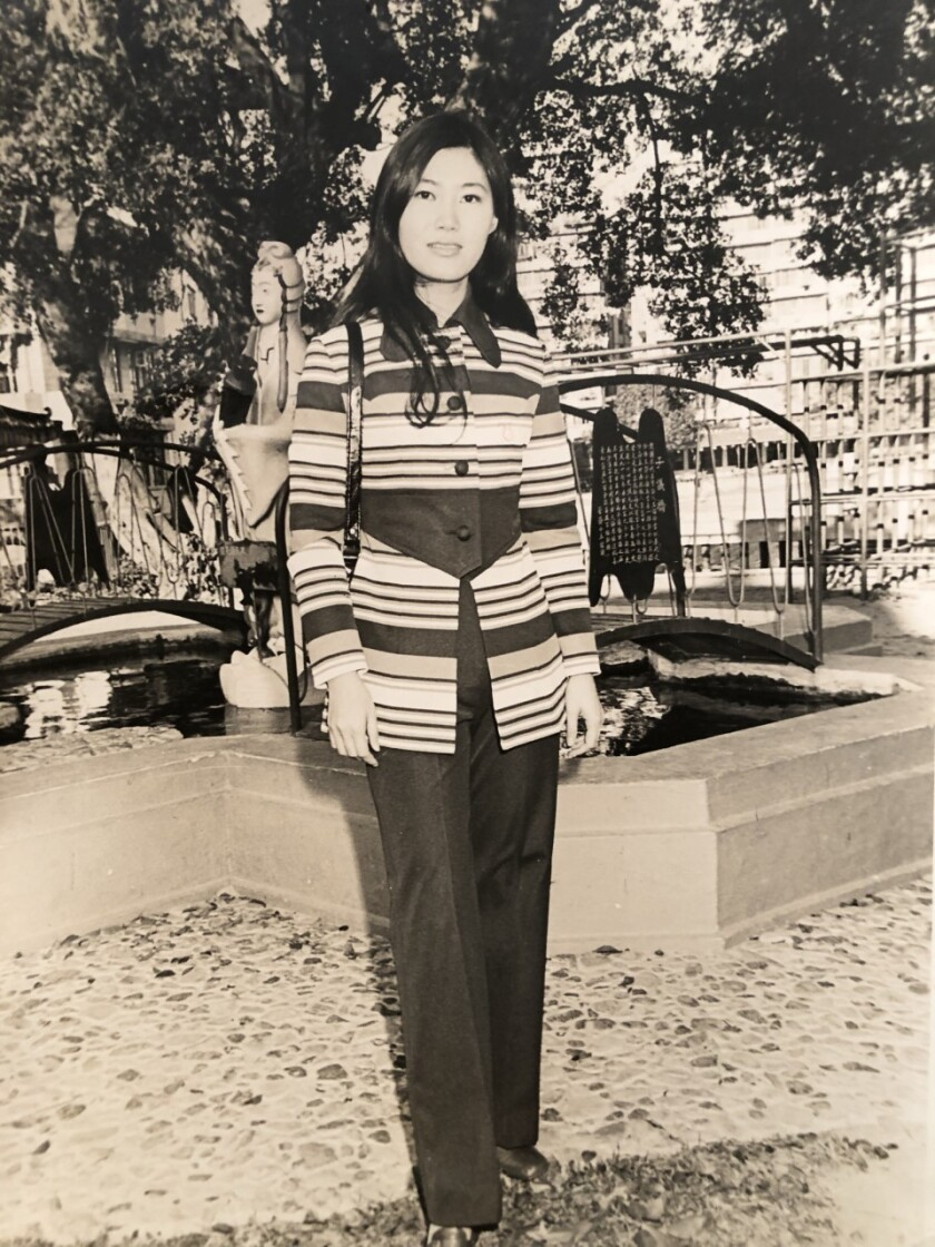Flossie Wong-Staal is pictured during her early years in the United States.