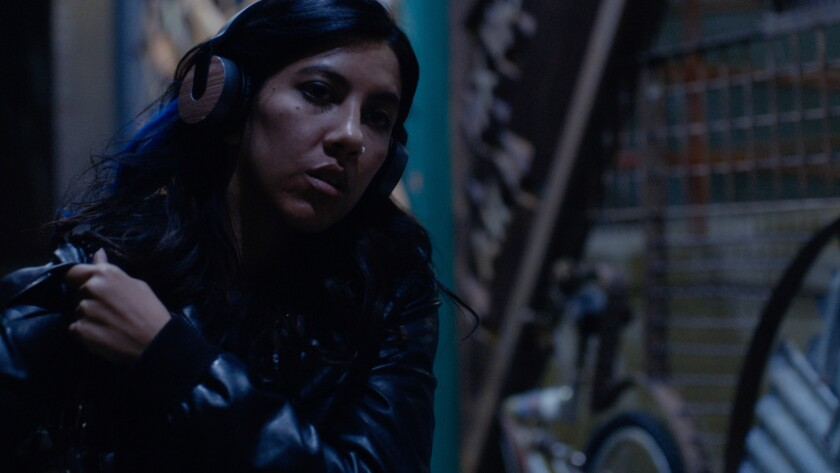 "Stephanie Beatriz in a scene from the movie ""The Light of the Moon."" Credit: Joanna Totolii / Imagi"