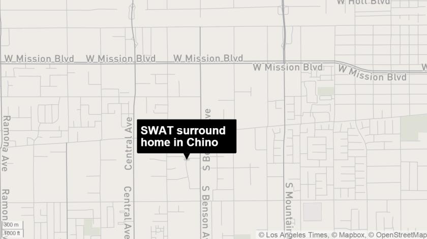 SWAT surround Chino home
