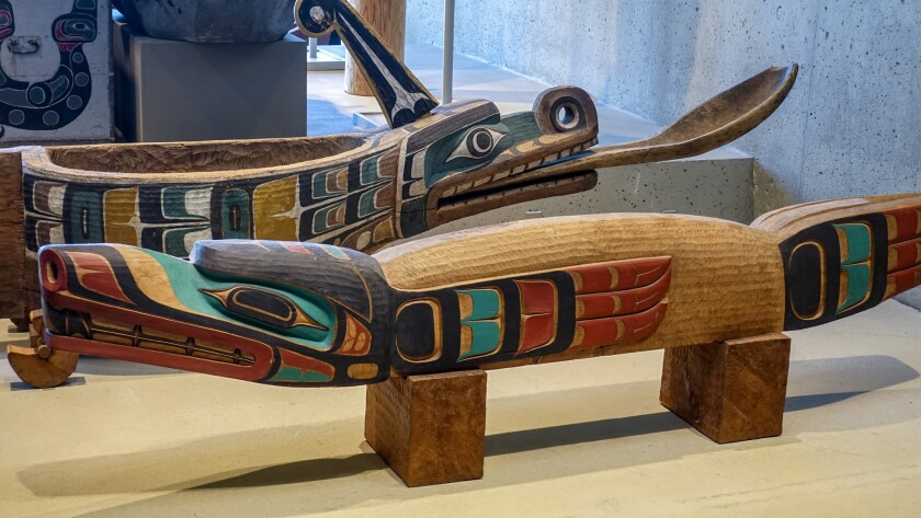 The Museum of Anthropology at the University of British Columbia is home to a vast collection of ethnological objects and art made by the indigenous people of British Columbia.