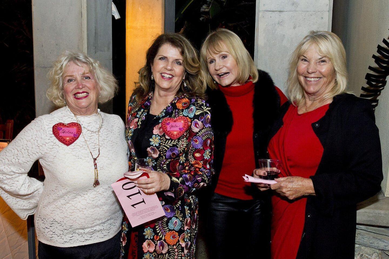 Thelma Gerome, Gala Yayla, Marla Engel, Donna Klipstein