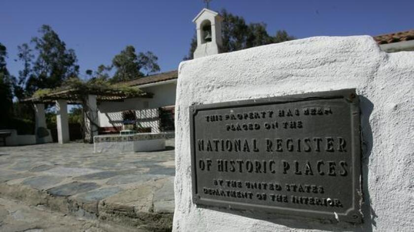 """Camp Pendleton's Rancho Santa Margarita Ranch House, known as """"The Ranch House"""" is listed on the National Register of Historic Places and will be featured on a tour."""