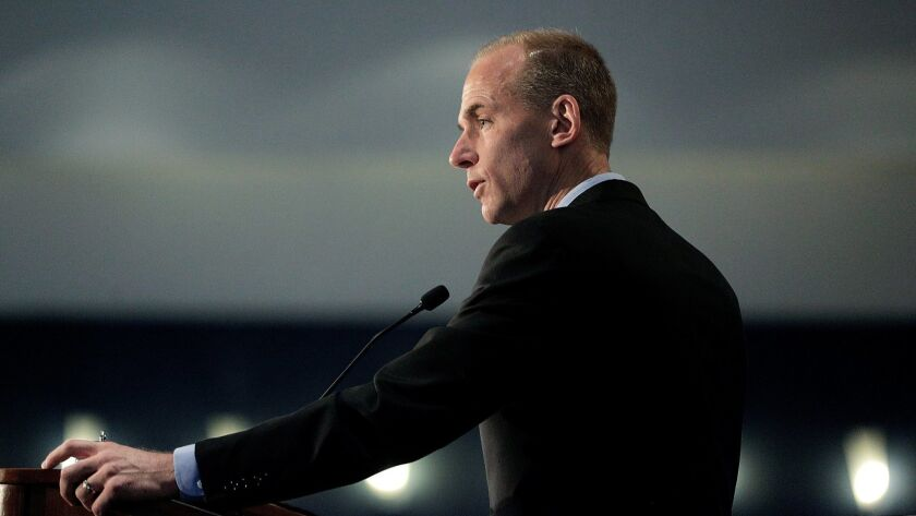 Boeing CEO Dennis Muilenburg has been meeting monthly with a team working on the company's first all-new jetliner since 2004.