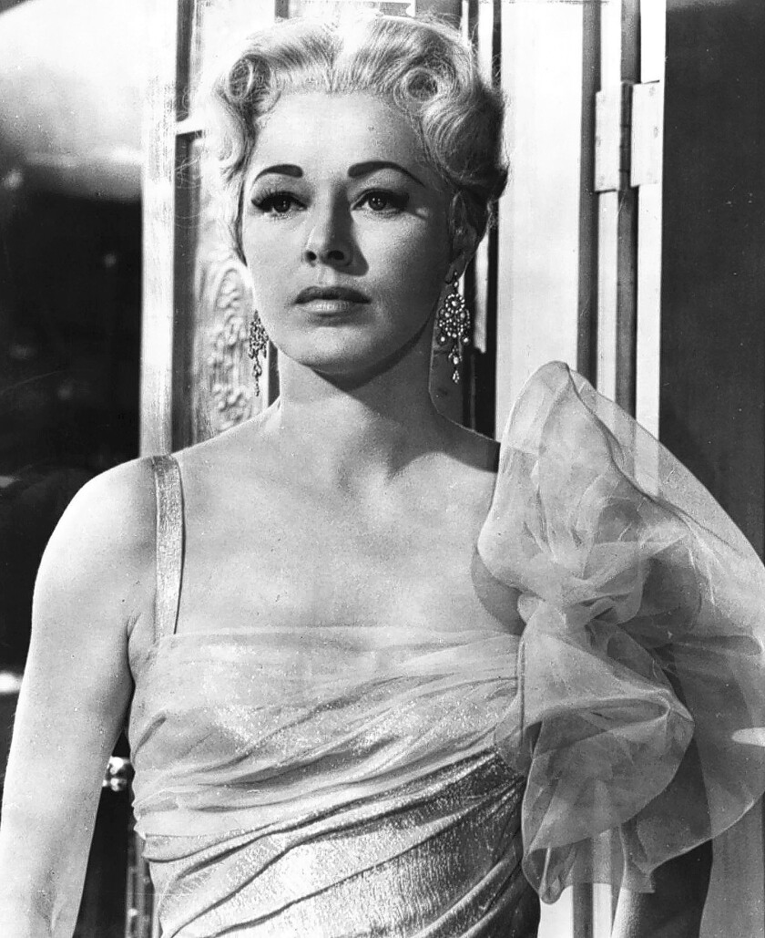 """Eleanor Parker as the baroness in """"The Sound of Music."""" It took her many years to make peace with the fame the role brought her, her son said."""