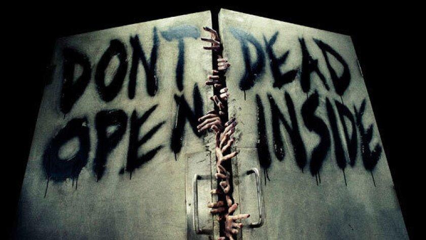 Walking Dead: Dead Inside haunted maze during Halloween Horror Nights at Universal Studios Hollywood