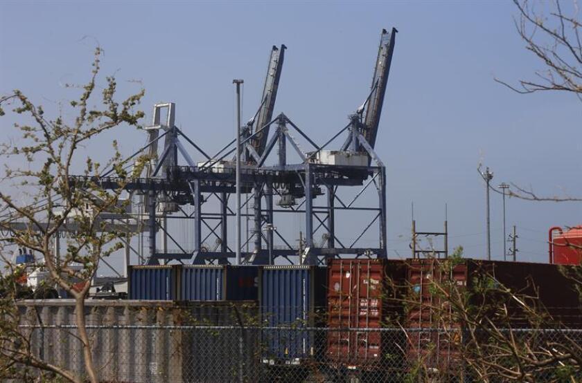 Vista general del puerto de San Juan (Puerto Rico). EFE/Archivo