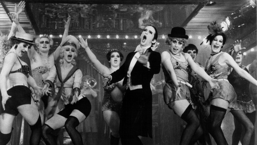 "Joel Grey stars in the 1972 film version of ""Cabaret."""