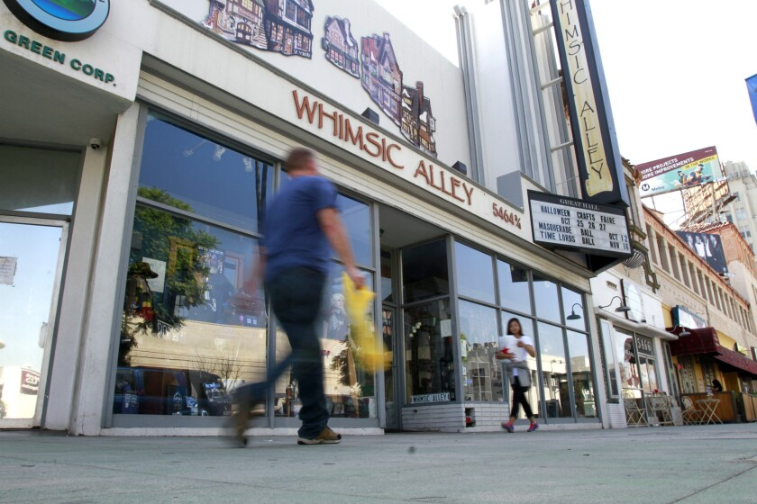"""Whimsic Alley on Wilshire Boulevard in Los Angeles has settled a lawsuit brought against it by Warner Bros. for infringing on """"Harry Potter"""" trademarks."""