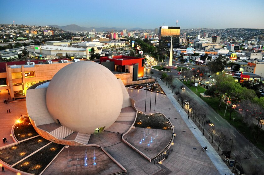 The Cultural Center, also known as CECUT, is located in the Zona Rio area of metropolitan Tijuana, which local tourism officials hope to promote through a cooperative agreement with San Diego's Tourism Authority.