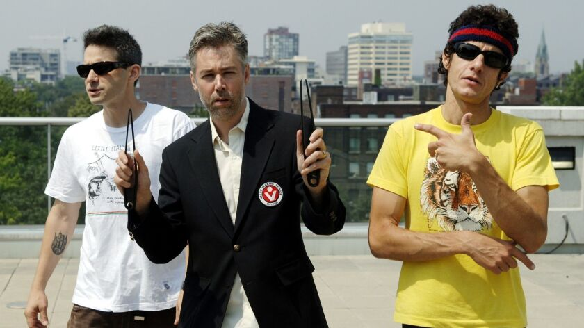 The Beastie Boys — from left, Adam Horovitz (Ad-Rock), Adam Yauch (MCA) and Michael Diamond (Mike D) — in 2006. Horovitz and Diamond have written a join memoir of the band.