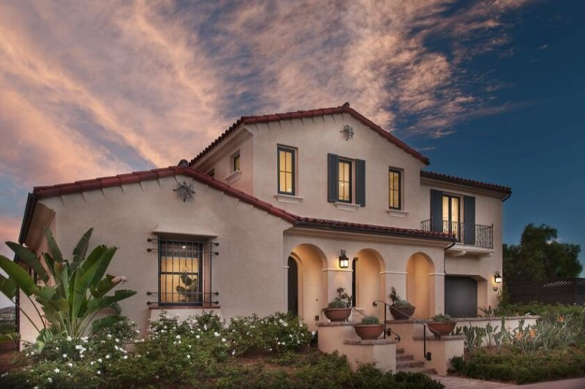 The Enclave Rancho Santa Fe by Davidson Communities adjacent to The Crosby subdivision off Del Dios Highway will include 13 homes up to 3,881 square feet. The first phase starting price is nearly $1.3 million.