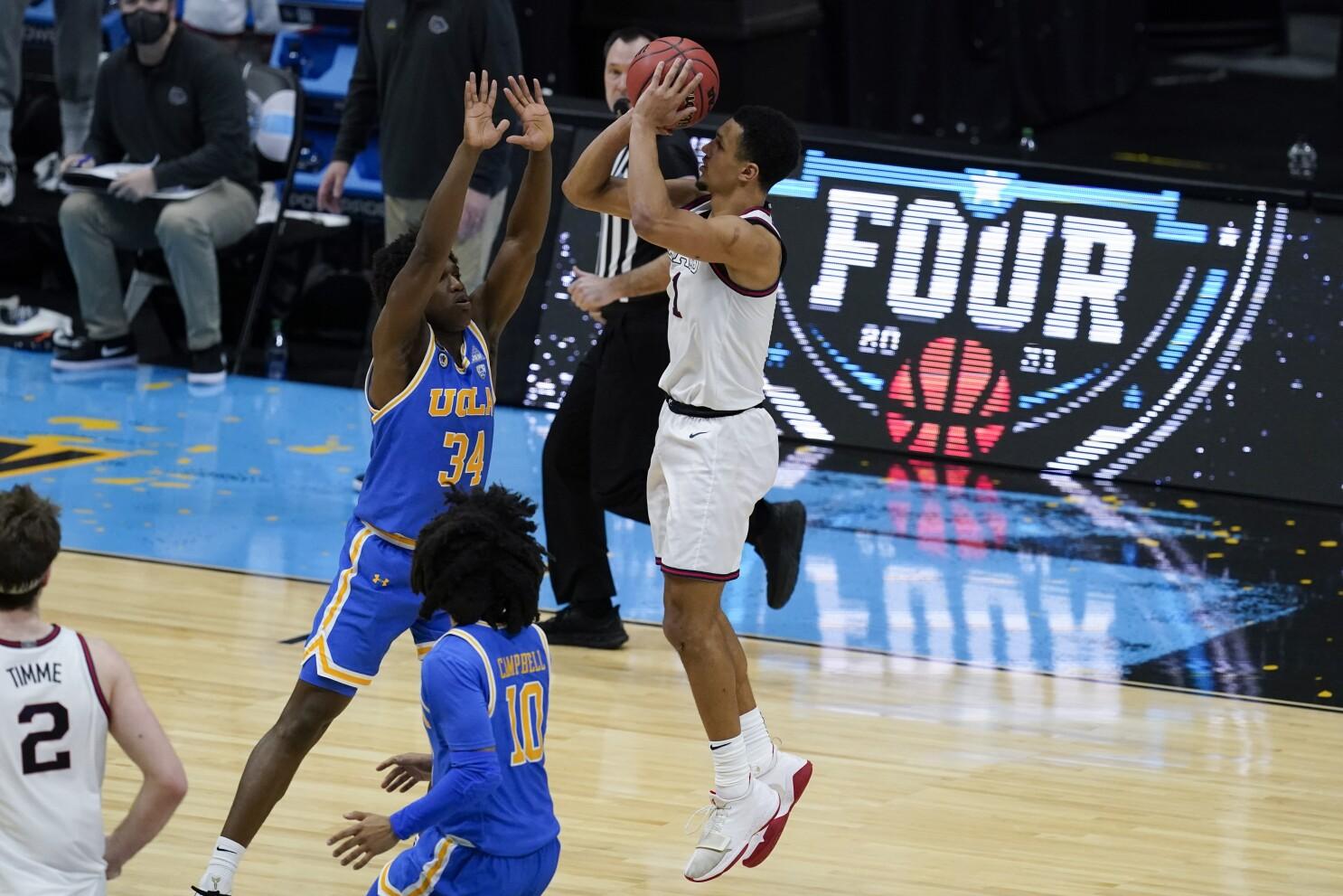 UCLA falls to Gonzaga at buzzer in OT