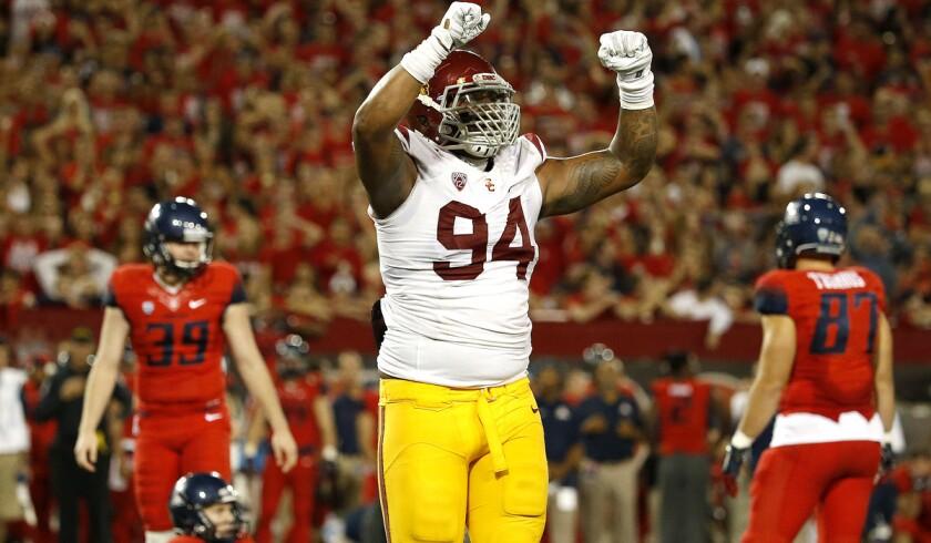 USC defensive lineman Leonard Williams raising profile with