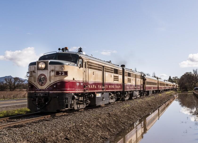 The Napa County Wine Train.