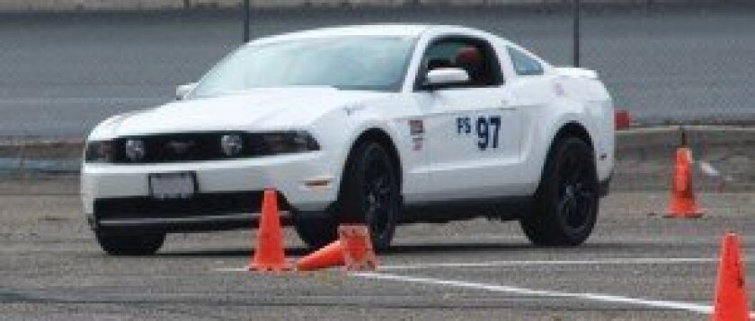 Jan autocrossing - photo by Randy Butcher