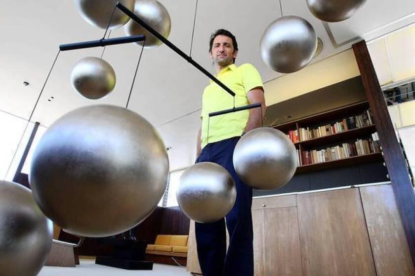 Artist Xavier Veilhan casts Richard Neutra's VDL House in a new light
