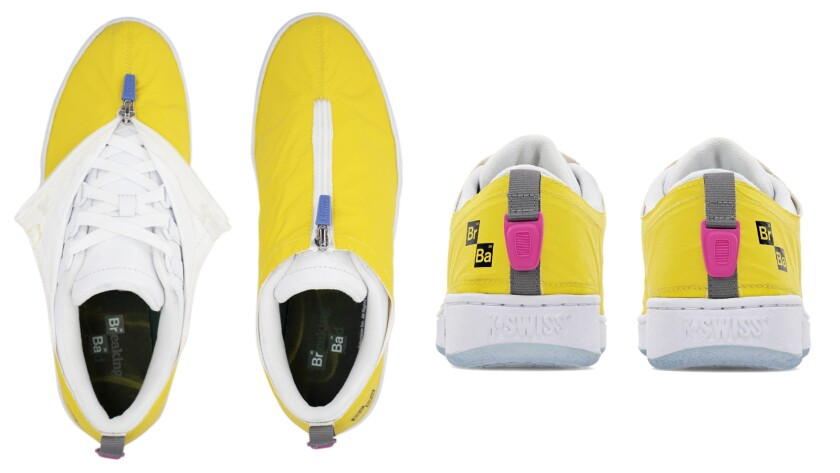 "The K-Swiss X ""Breaking Bad"" ""Cooking"" sneakers"