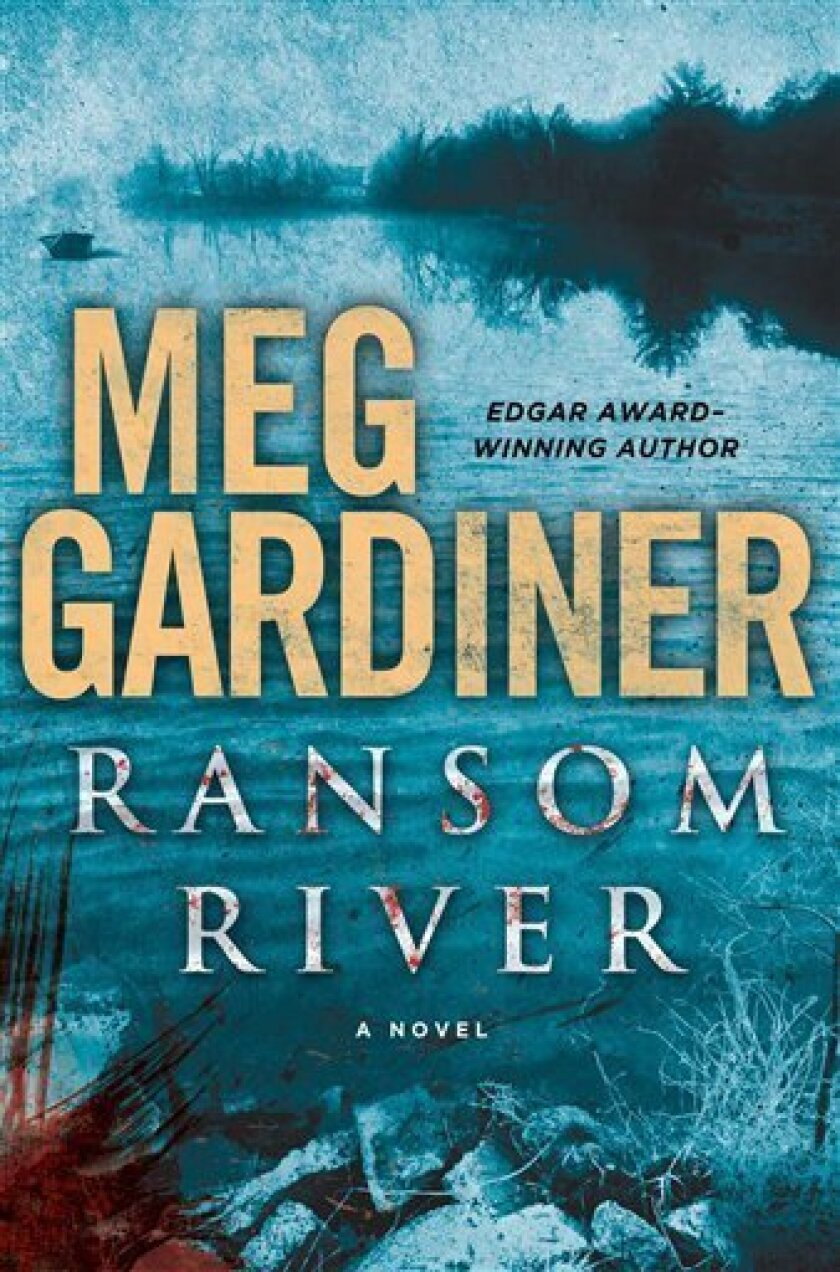"""This book cover image released by Dutton shows """"Ranson River,"""" by Meg Gardiner. (AP Photo/Dutton)"""