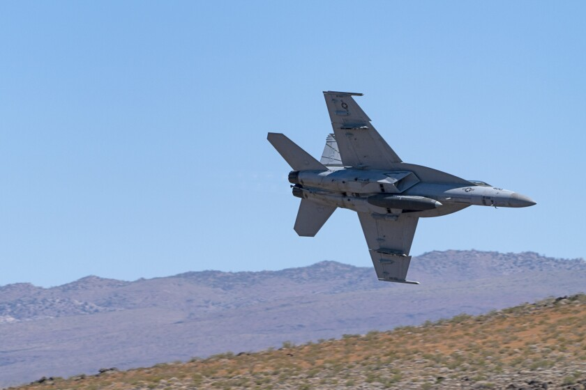 Pilot died in military jet crash near Death Valley's 'Star Wars Canyon,' Navy confirms