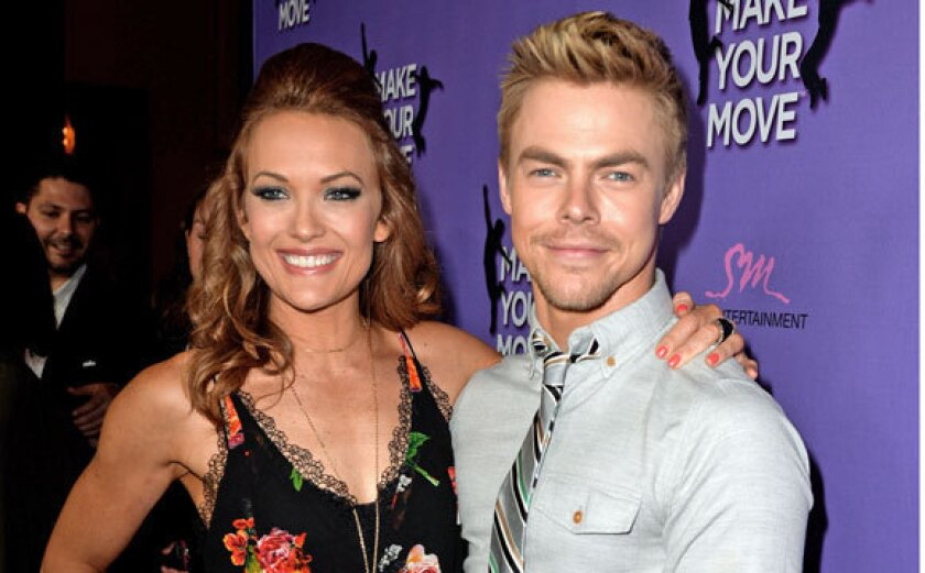 Amy Purdy and Derek Hough.
