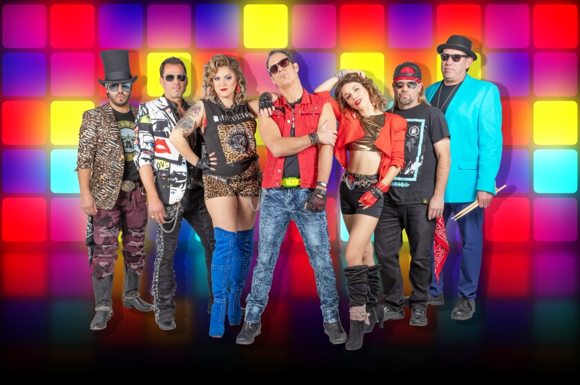 BETAMAXX kicks off the 2021 Summer Concert Series on Sunday with live '80s music.